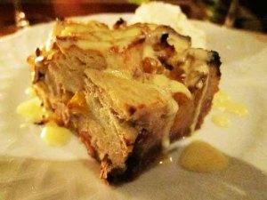 The Basin bread pudding